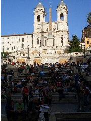 Italien Rom Städtereisen panische Treppe